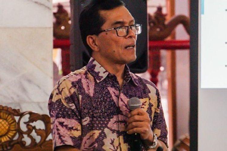 Rektor Universitas Katolik Parahyangan Mangadar Situmorang, PhD.