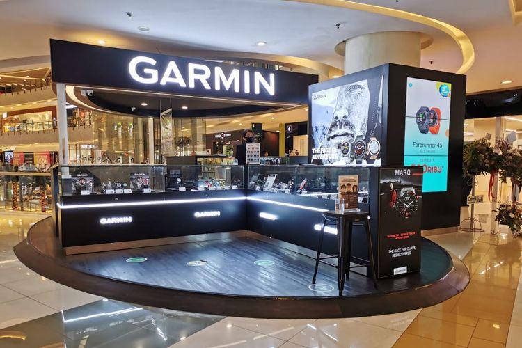 Garmin Brand Store di Mal Central Park.