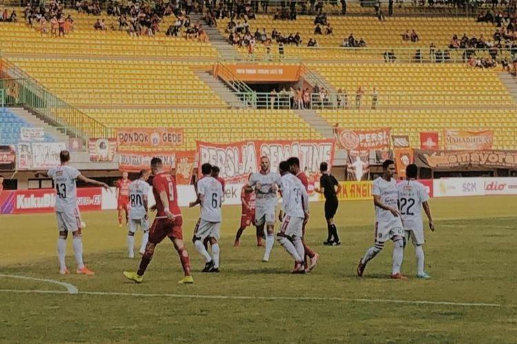 Persija Jakarta kalah dari Bali United 0-1 pada laga lanjutan Liga 1 pekan ke-19, Kamis (19/9/2019).