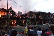 Kebakaran di Menteng Dalam, Penghuni Indekos: Saya Baru Pulang Kerja, Api Sudah Besar