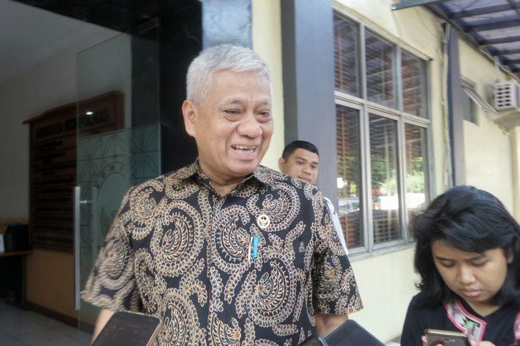 Sekretaris Komisi Kepolisian Nasional (Kompolnas) Bekto Suprapto saat ditemui di kantor Kompolnas, Kompleks PTIK, Jakarta Selatan, Jumat (8/9/2017).