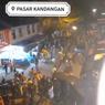 Ramai Video Sebut Ricuh Pedagang Vs Petugas PPKM di Pasar Kandangan Kediri, Ini Faktanya