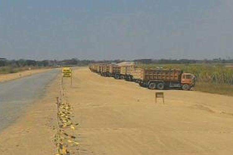 Ilustrasi: Pembebasan tanah untuk jalan tol