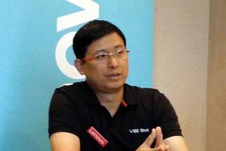 Dillon Ye, Vice President & Asia Pacific Lenovo Smartphone Sales.