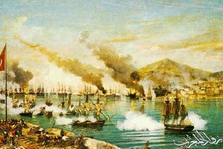 Ilustrasi perlawanan Aceh terhadap Portugis di Malaka.