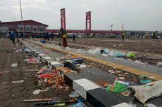 Pesta Malam Tahun Baru di Benteng Kuto Besak Palembang Hasilkan 15 Ton Sampah