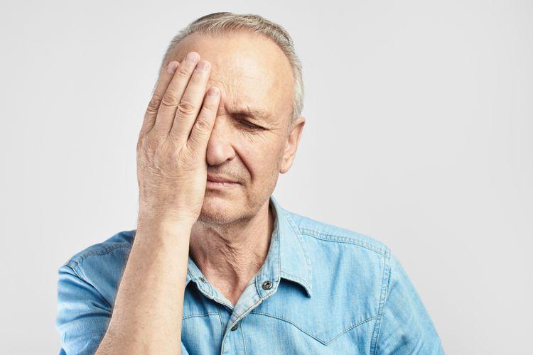Ilustrasi sakit kepala cluster