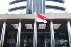 Hormati Wafatnya BJ Habibie, KPK Kibarkan Bendera Setengah Tiang