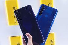 Melihat Wujud Realme 5 dan Realme 5 Pro Lebih Dekat