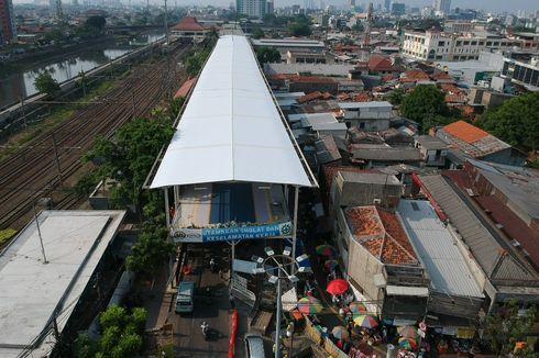 372 PKL Jatibaru Ikut Undian Lapak di Skybridge Tanah Abang