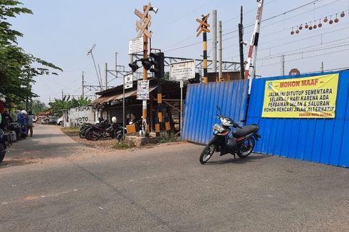 Ada Perbaikan, Jalan KH Agus Salim Bekasi Ditutup Sementara