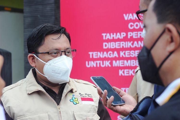Pelaksana tugas Kepala Dinas Kesehatan Cianjur Irvan Nur Fauzi