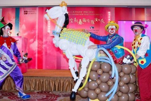 Pawai Mobil Hias dan Barongsai, Puncak Perayaan Imlek di Hongkong
