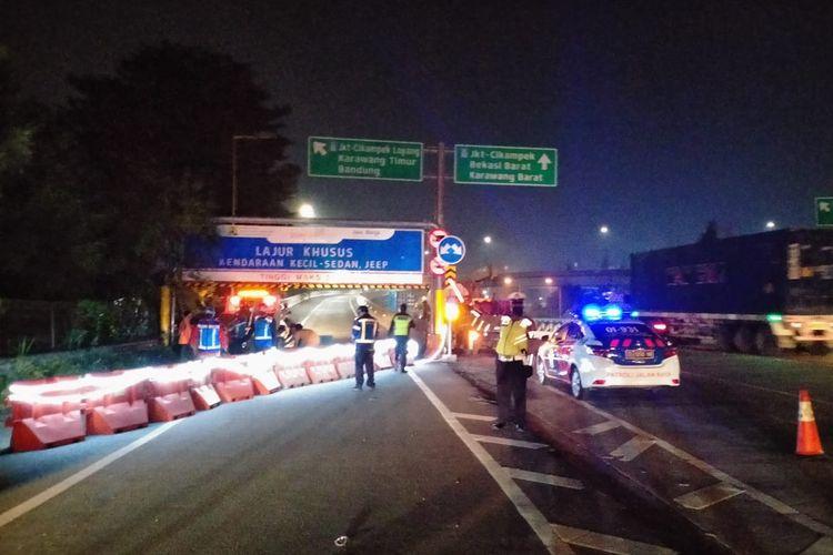 Tol Layang Jakarta-Cikampek ditutup