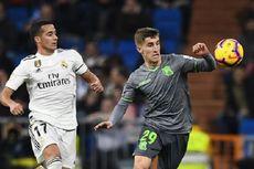 Real Madrid Vs Real Sociedad, Kartu Merah Warnai Kekalahan Madrid