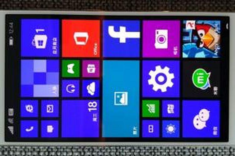 Smartphone Xiaomi Mi4 menjalankan Windows 10