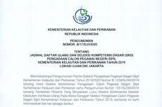 Jadwal Daftar Ulang dan SKD CPNS di Kementerian Kelautan dan Perikanan