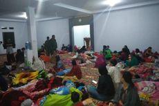 Angin Kencang Menerjang Puncak Bogor, 300 Penduduk Desa Diungsikan ke Masjid.