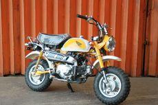 Jadi Motor Klasik, Harga Honda Monkey Z50 Tembus Ratusan Juta Rupiah
