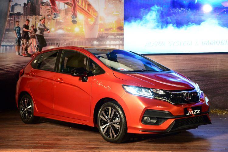 New Honda Jazz yang baru saja mendapat penyegaran (26/7/2017).