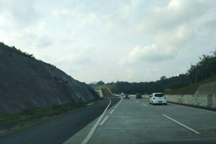 Jalur Darurat atau Jalur Penyelamat di Tol Trans Jawa