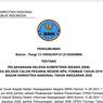 Jadwal, Lokasi, dan Tata Tertib SKB CPNS 2019 BNN, Ada Sesi Psikotes