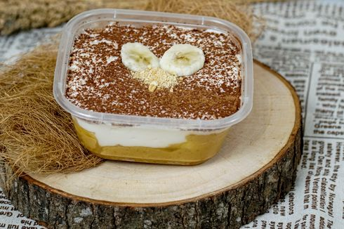 Resep Banoffee Dessert Box, Kue Kekinian Tanpa Oven buat Jualan