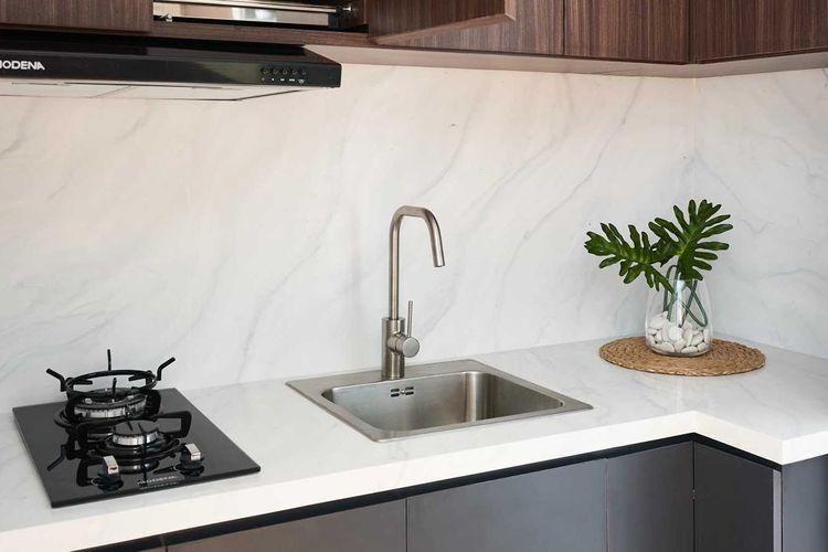 Tanaman di dapur minimalis karya Studio IG Interior