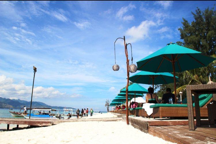 Gili Trawangan adalah salah satu kawasan wisata paling terdampak selama pandemi, kunjungan wisatawan menurun tajam.