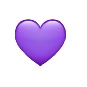 Emoji Purple Heart