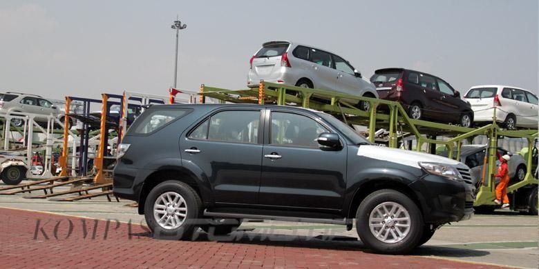 Fortuner merupakan penyumbang utama ekspor Toyota dari Indonesia.