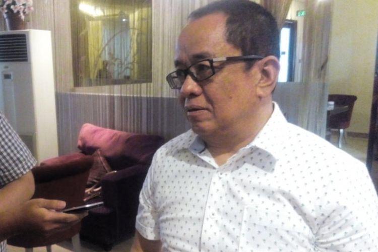Mantan Staf Khusus Menteri ESDM, Muhammad Said Didu memberi keterangan kepada wartawan di Jakarta Pusat, Sabtu (21/12/2018).