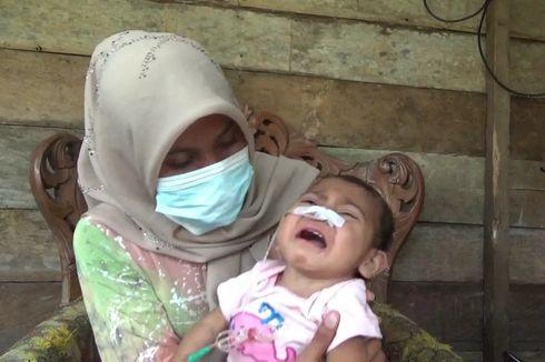 Kompas.com dan Kitabisa Galang Donasi untuk Aqila, Bayi yang Makan Minum Lewat Selang