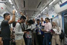 Ada Ganjil Genap, MRT Naikkan Target Penumpang Jadi 100.000 Per Hari