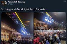 McD Sarinah Didenda Rp 10 Juta karena Gelar Seremoni Penutupan Gerai Saat PSBB