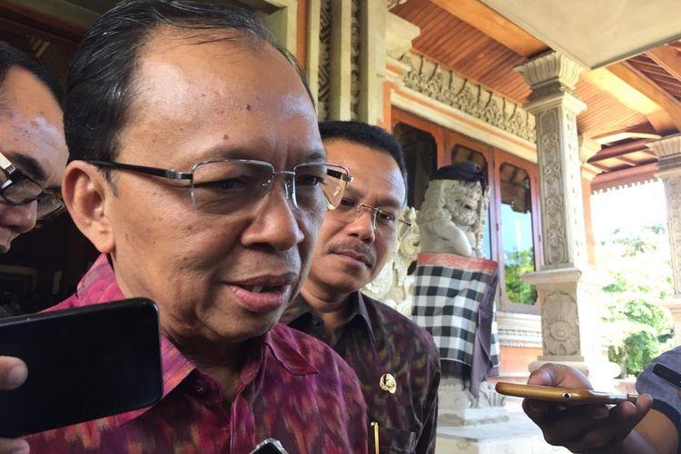 Gubernur Bali, I Wayan Koster di Denpasar, Rabu (12/2/2020).