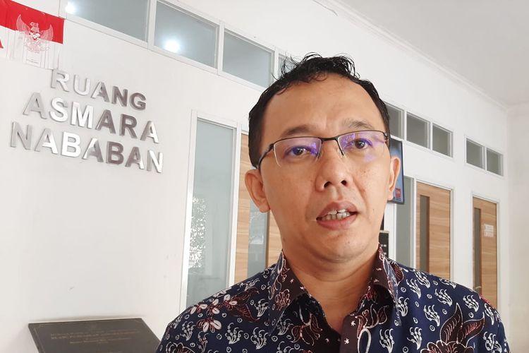 Komisioner Komnas HAM Beka Ulung Hapsara di kantor Komnas HAM, Menteng, Jakarta, Senin (2/3/2020).