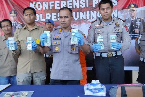 Gelar Razia, Polisi Temukan 736 Dollar Palsu Siap Edar di Kuningan, Nilainya Rp 1 Miliar
