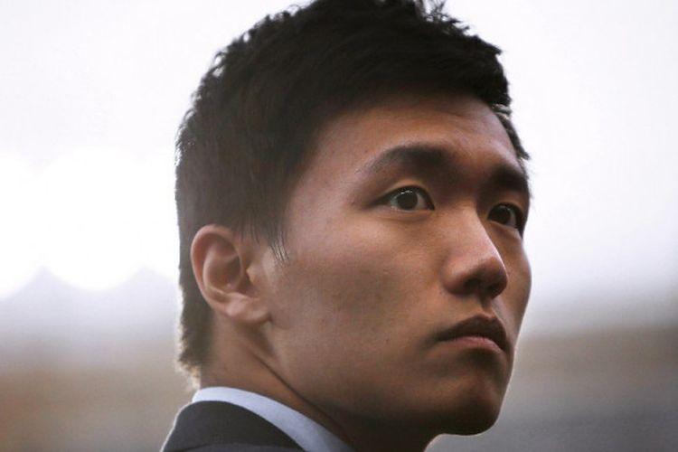 Steven Zhang dalam laga Torino-Inter Milan di Liga Italia, 18 Maret 2017 di Stadion Grande Torino, Turin. Kini, Zhang jadi presiden baru Inter Milan.