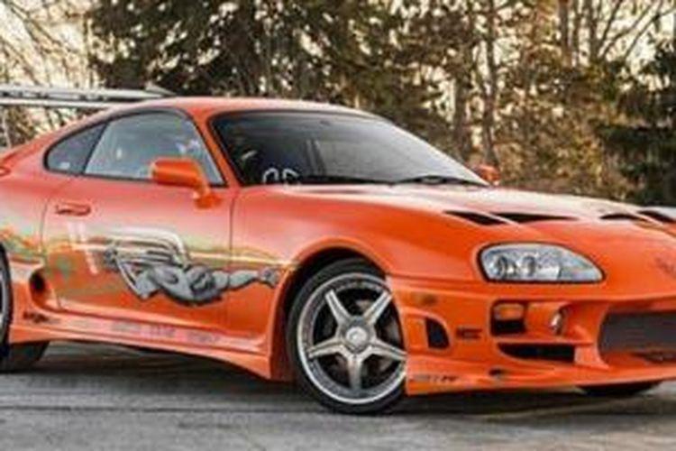 2015 Toyota Supra >> Toyota Supra Paul Walker Dilelang