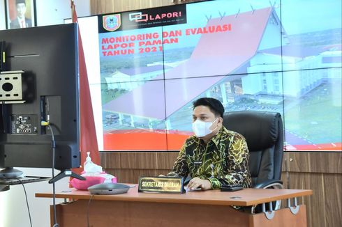 Sekda Kalsel Ungkap 5 SKPD Lamban Selesaikan Aduan Masyarakat