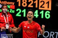 Kata Anthony Ginting Usai Sumbang Poin Pertama pada Final Piala Thomas 2020