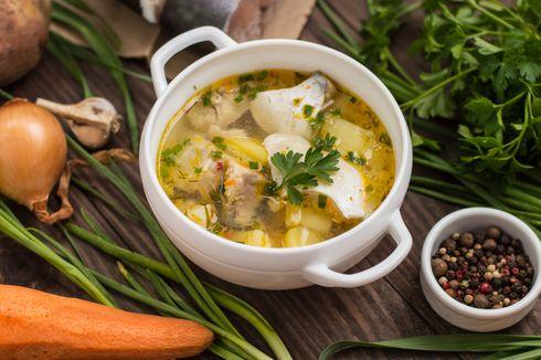 Resep Sop Ikan Sederhana Kuah Bening, Pakai Ikan Kakap