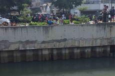 Petugas PPSU Berkali-kali Melihat Kemunculan Buaya di Kali Grogol