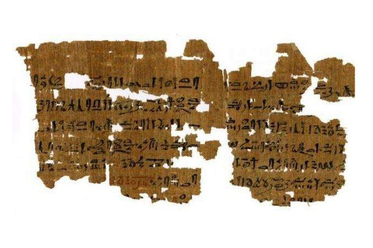 Naskah Mesir kuno ini berisikan praktik medis ribuan tahun lalu. Di dalamnya berisi tentang tes kandungan, penyakit ginjal, dan juga perawatan sakit mata.