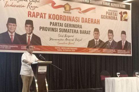 Gerindra Siapkan Nasrul Abit-Indra Catri di Pilkada Sumbar 2020