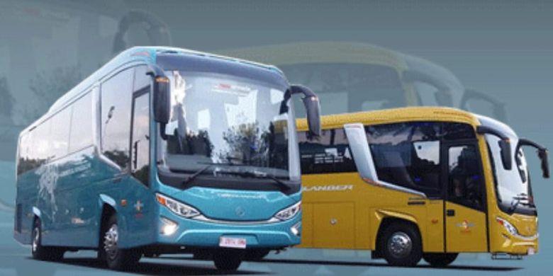 Bus Evolander buatan New Armada