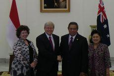 Presiden SBY dan Kevin Rudd Bertemu di Istana Bogor