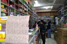 Sulitnya Bahan Baku Bikin Pedagang Jual Masker dengan Harga Tinggi