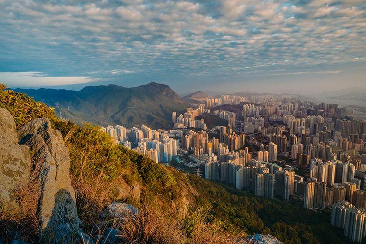 Pemandangan Hong Kong dari Lion Rock Country Park (dok. Discover Hong Kong | Calvinsit).